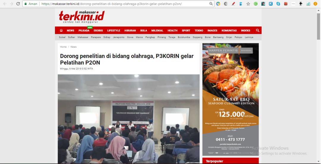 Makassar Terkini P3KORIN